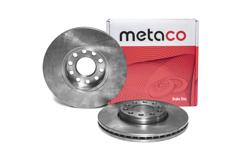 METACO - Диск тормозной передний вентилируемый VW PASSAT [B5] (2000-2005)
