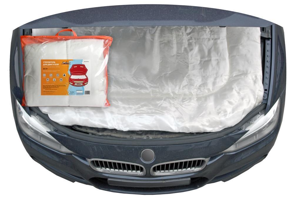 AIRLINE - Утеплитель для двигателя,стеклоткань,цвет белый,130*90см