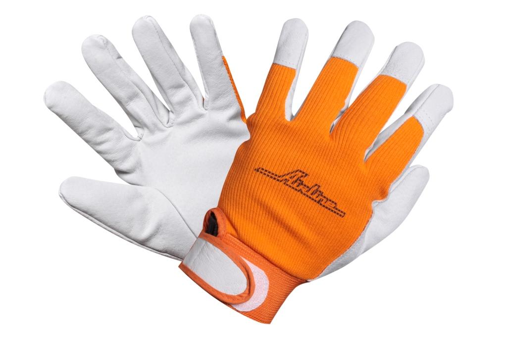 AIRLINE - Перчатки козья кожа, комбинированные