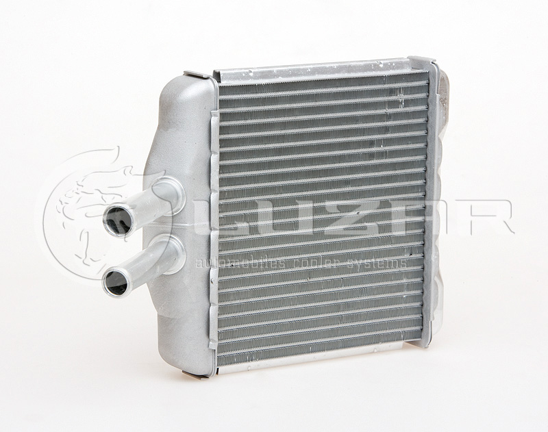 LUZAR - Радиатор отоп. Chevrolet Lanos