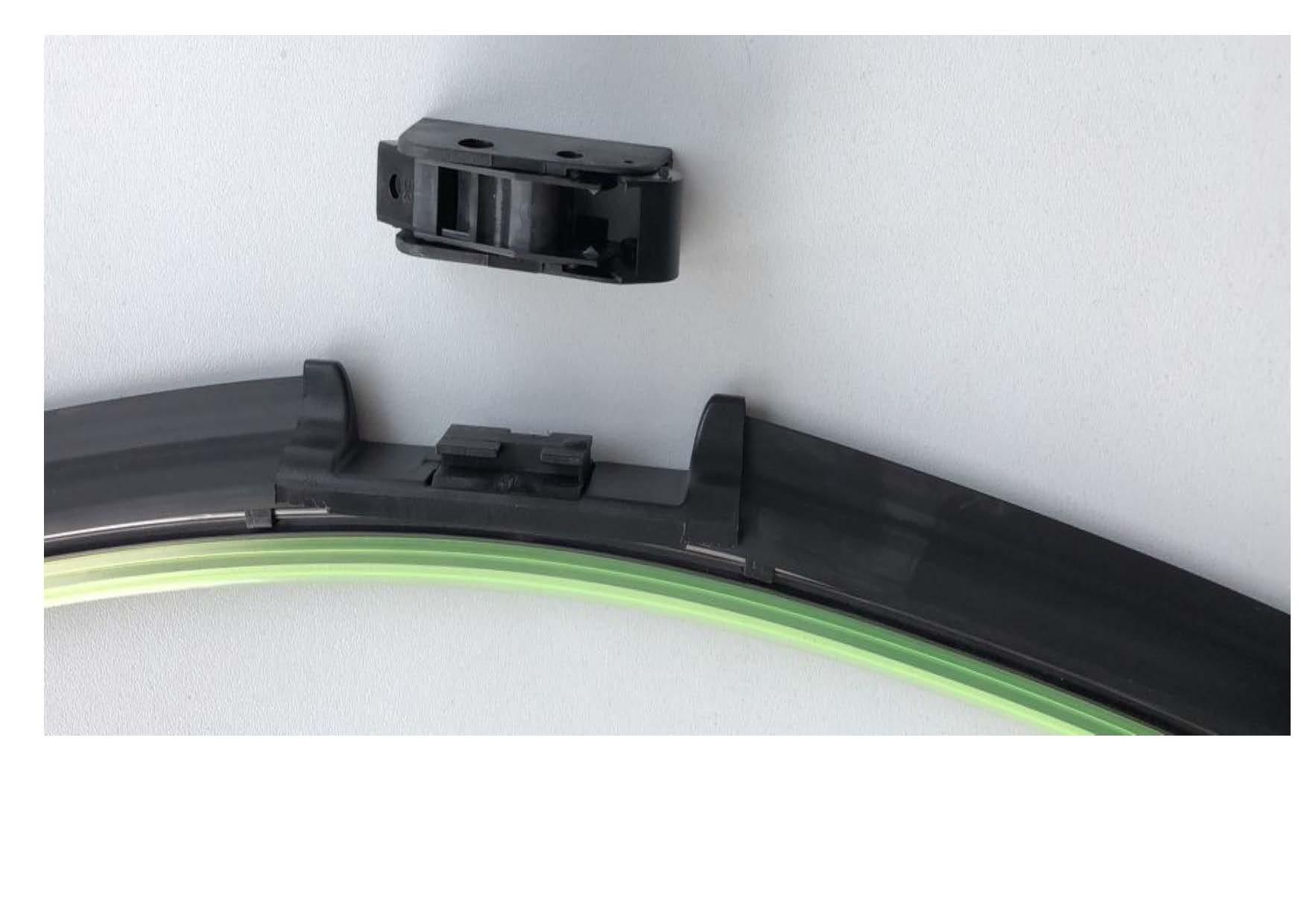 MAPCO - Щетка с/очистителя плоская 600 mm с универсальным адаптером Hook