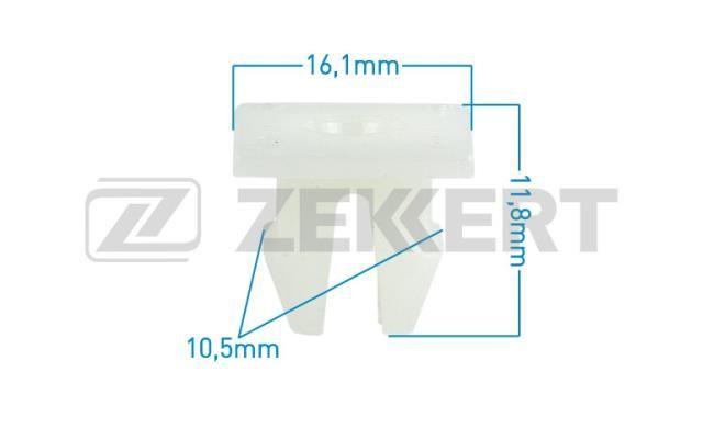 ZEKKERT - Клипса крепёжная Toyota мин. кол. заказа 10шт
