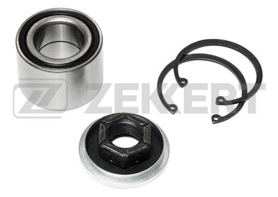 ZEKKERT - Подшипник ступицы, комплект, Ford Fiesta V 01-, Focus 98-, Fusion 02-, Mazda 2 03- зад.